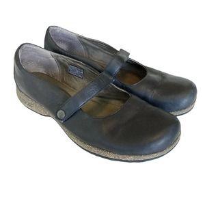 Teva Ventura Maryjane Comfort Leather Clogs 10.5